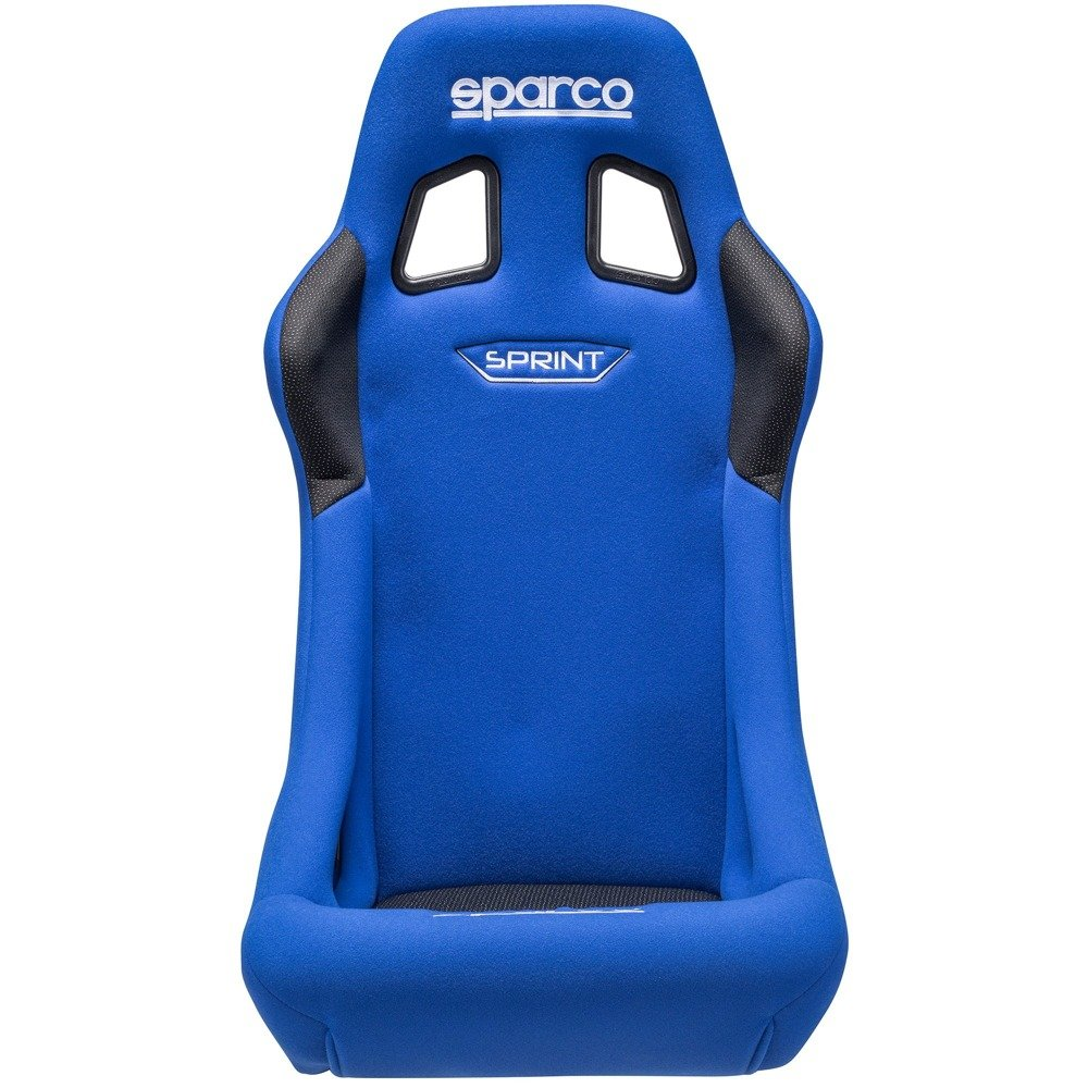 Cool Sparco Sprint Steel Frame Racing Seat 2019 Blue Fia Approved Machost Co Dining Chair Design Ideas Machostcouk