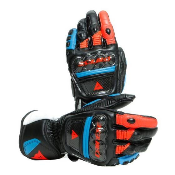Motorcycle Gloves DAINESE DRUID 3 LONG pista