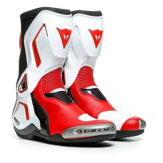 Motorcycle Sports Boots DAINESE TORQUE 3 OUT white/red