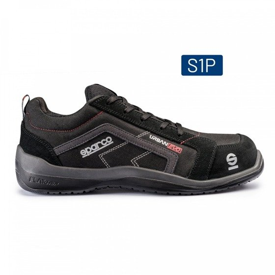 Sparco URBAN EVO S1P Mechanics Shoes black